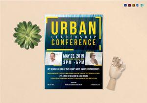 conference flyer designs
