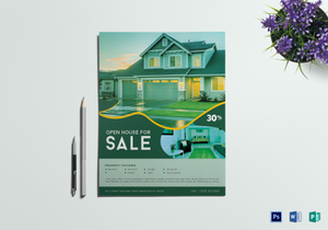 house sale flyer