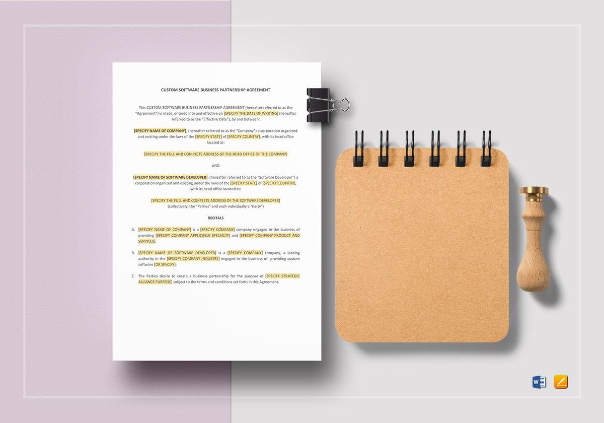 Demonstration Software License Agreement