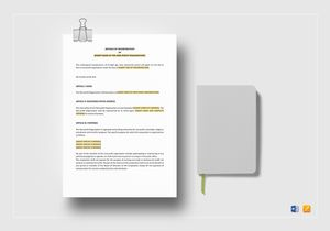 /4125/Articles-of-Incorporation-for-a-non-Profit-Organisation-Mockup
