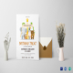 Animals Birthday Invitation Card Template