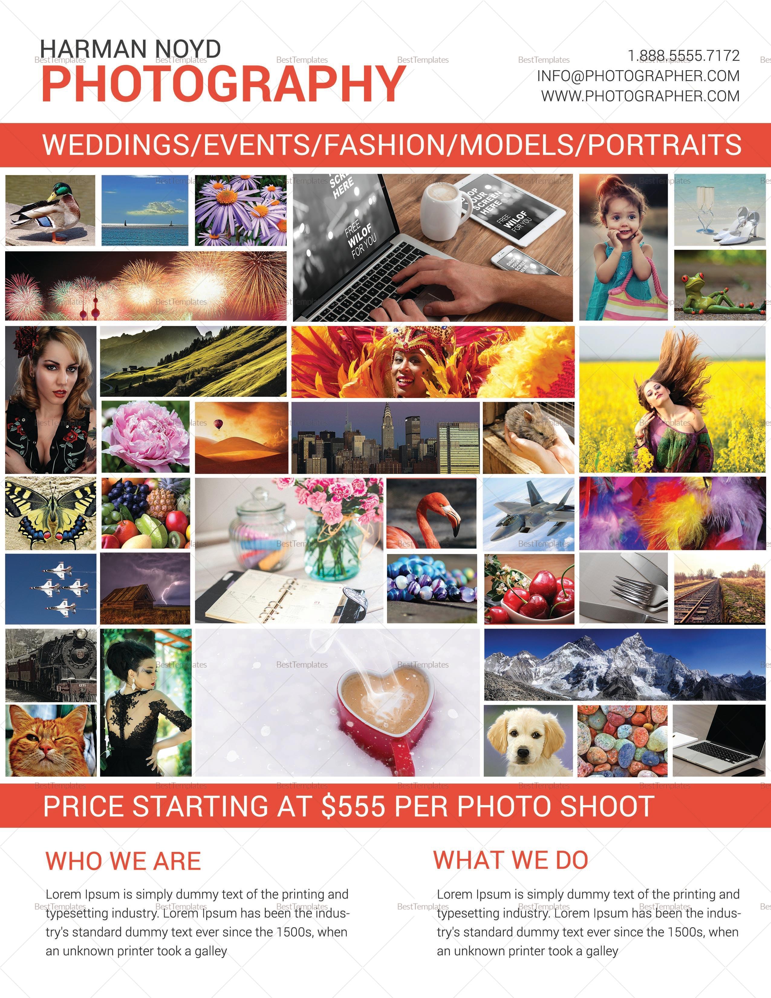 Creative Photography Flyer Design
