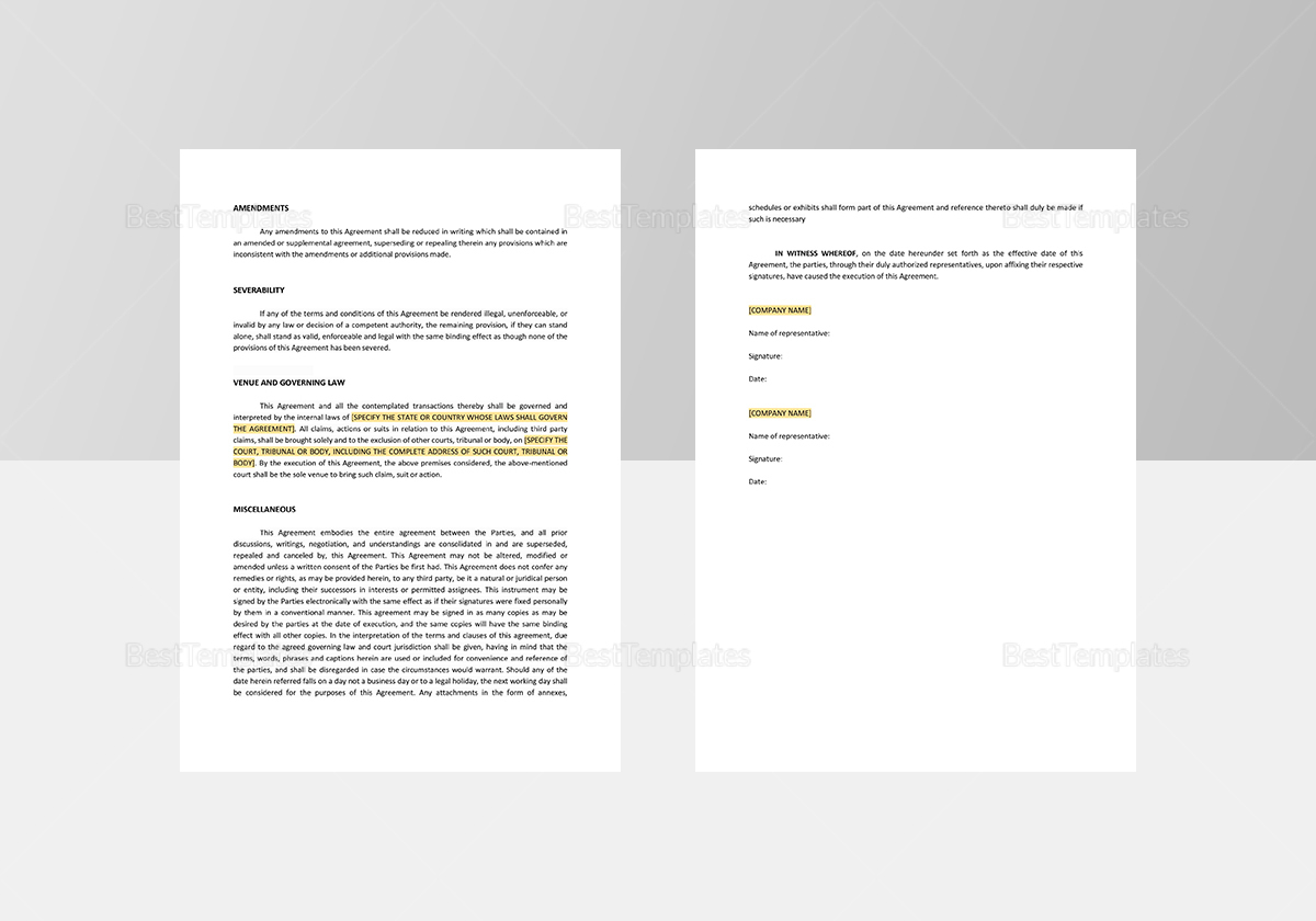 Sample Note Purchase Agreement Template
