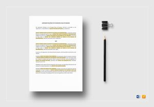 /4311/Agreement-Relating-to-the-Principal-Place-of-Business-Template