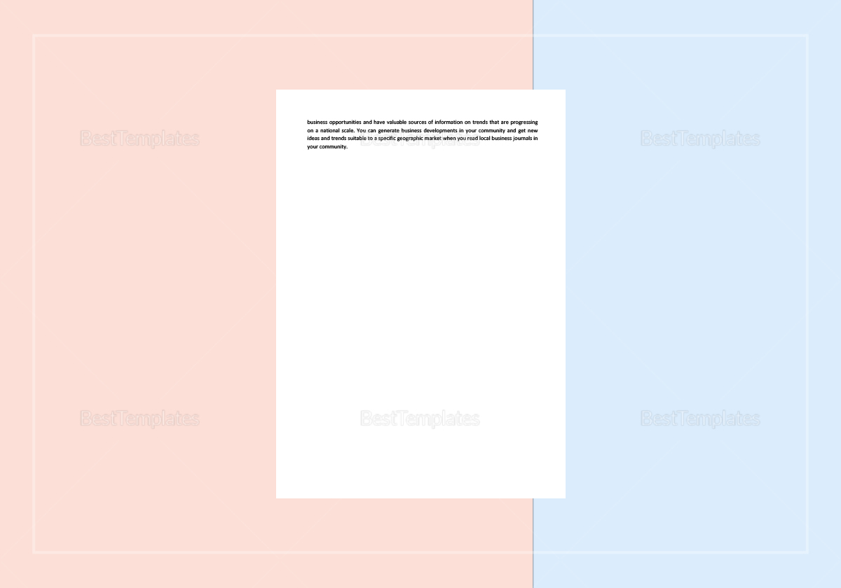 Simple Checklist Trend Analysis Template