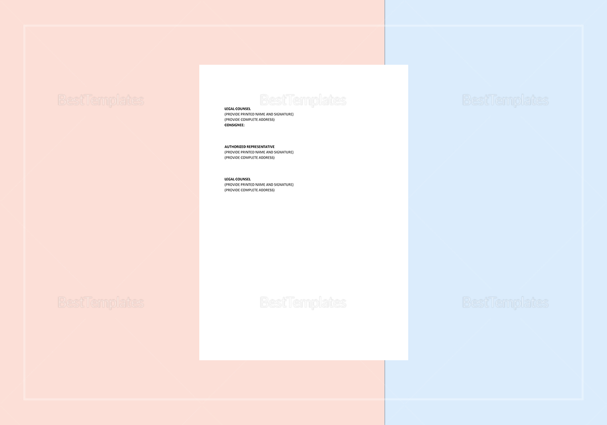 Shop Consignment Contract Template to Edit