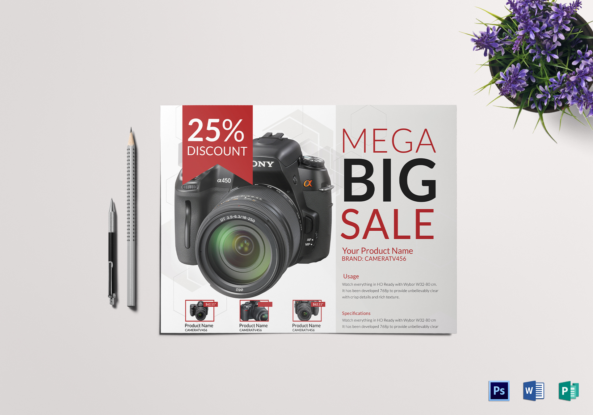 Electronic Products Flyer Template