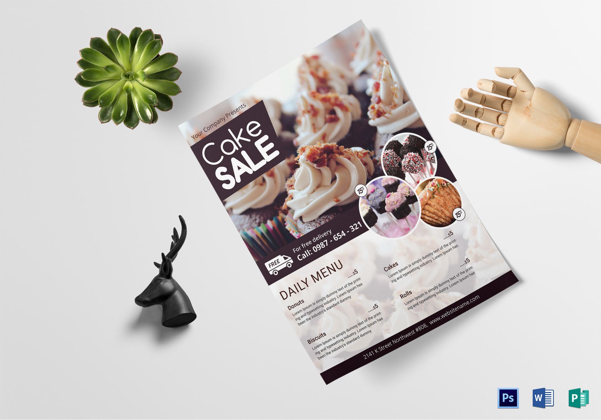 Cake Sale Flyer