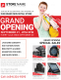 Store Grand Opening Flyer Design Template