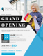 Fashion Grand Opening Flyer Design Template
