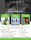 House Cleaning Flyer Design Template