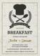 Baby Shower Breakfast Invitation Design Template