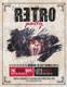Retro Style Concert Flyer Design Template
