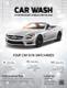 Basic Car Wash Flyer Template