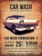 Car Wash Fundraising Flyer Template