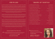 Printable Funeral Service Bi-fold Brochure