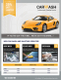 Car Wash And Valeting Service Flyer Template