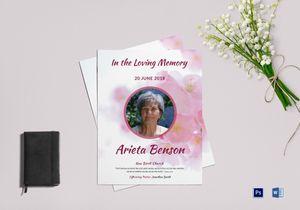 /5227/Memorial-Funeral-Flyer-Template