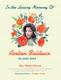 Printable Memorial Flyer