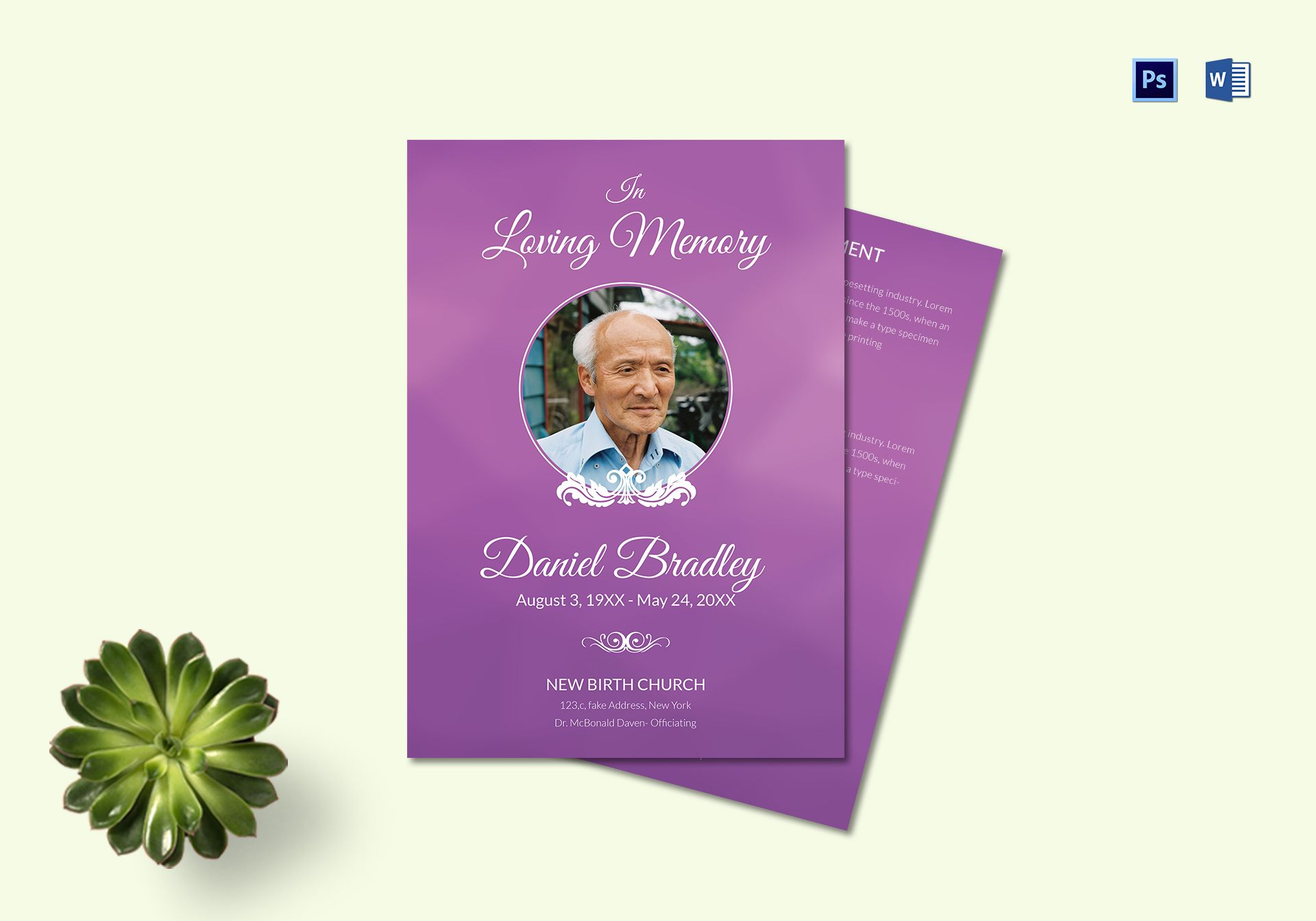 Printable Funeral Planning Program