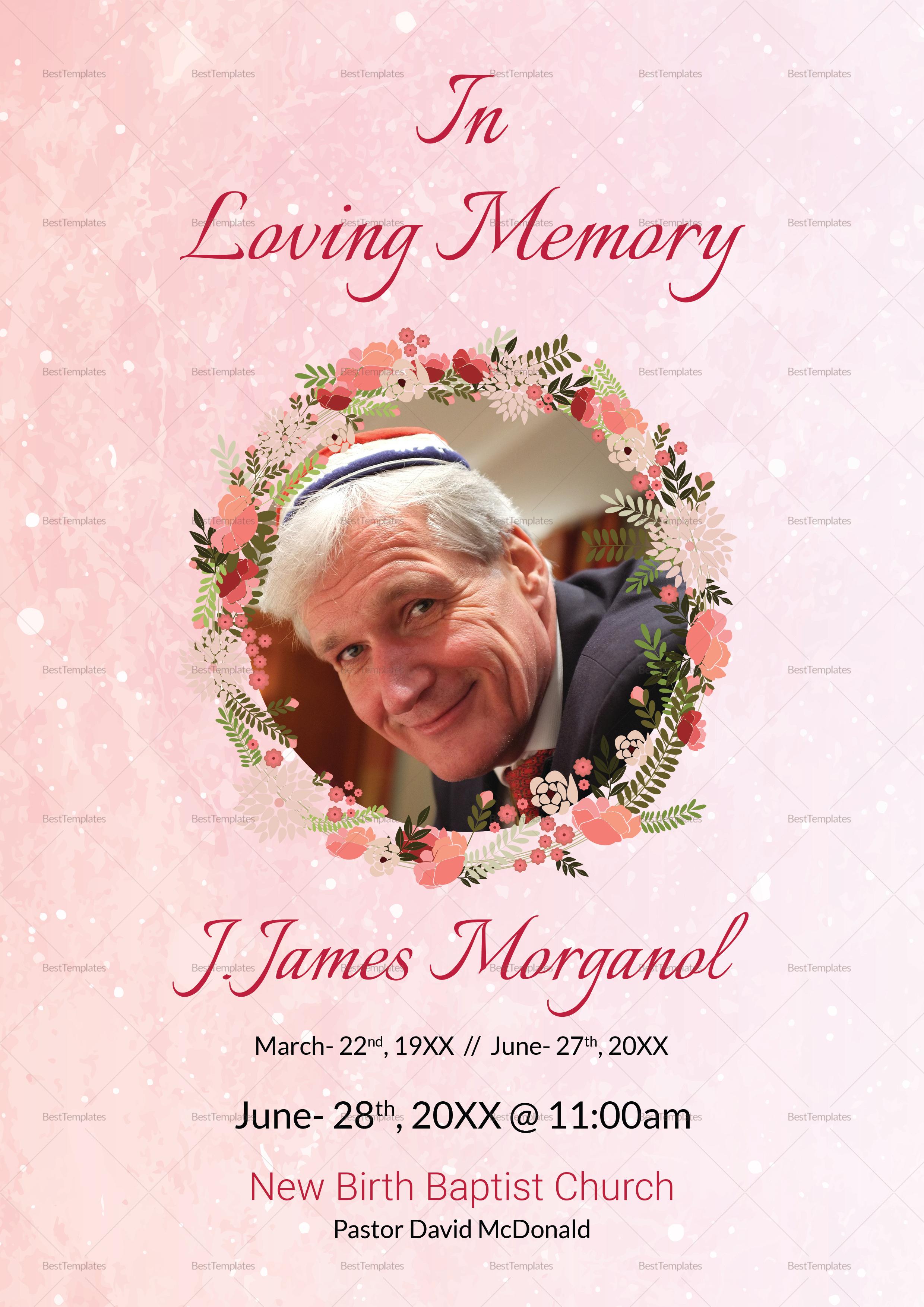 Funeral Prayer Template
