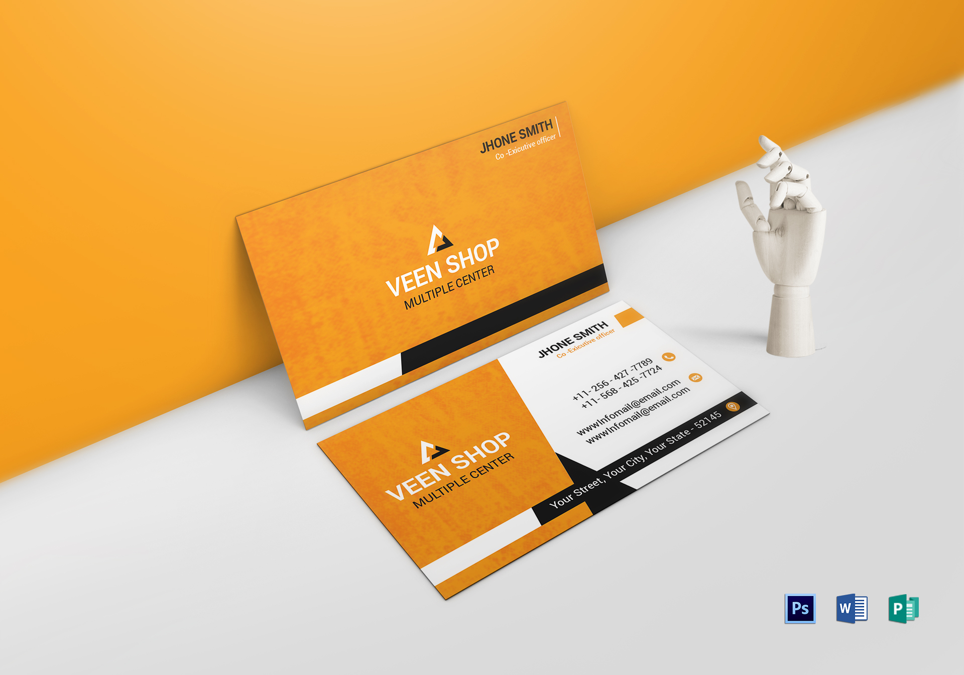 Executive Business Card