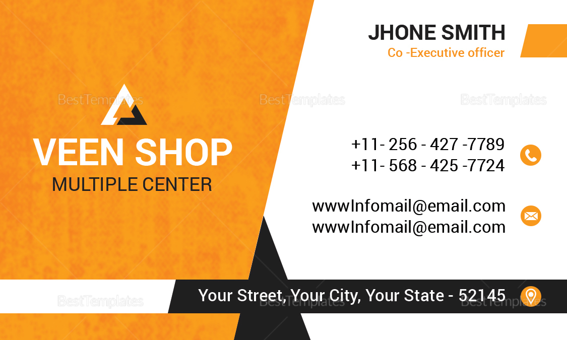 Executive Business Card Design