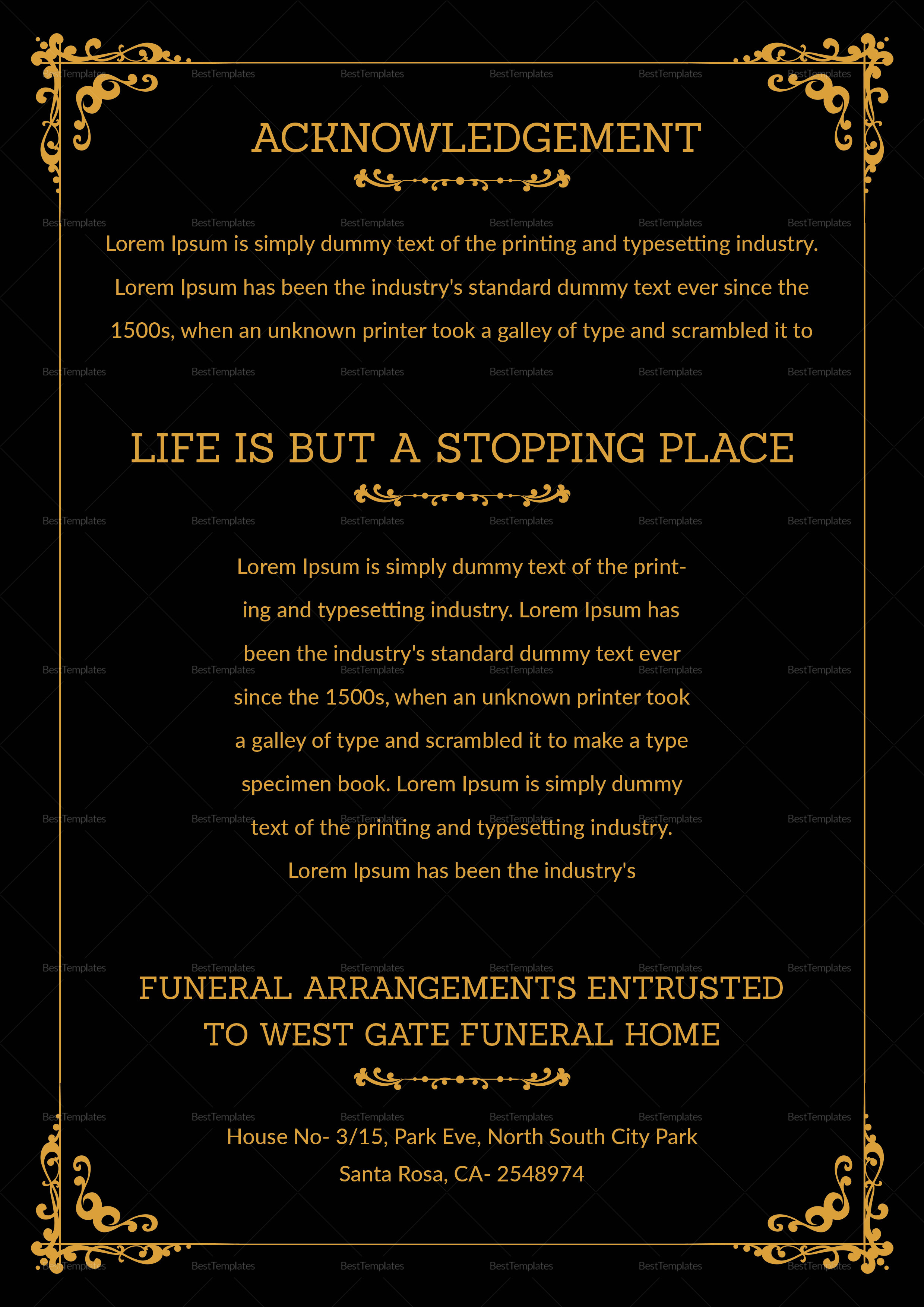 premium funeral resolution template in adobe photoshop