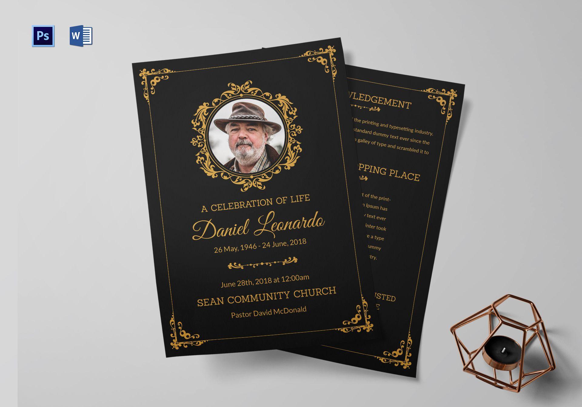 Premium Funeral Resolution Template