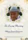 Simple Funeral Memorial Event Program