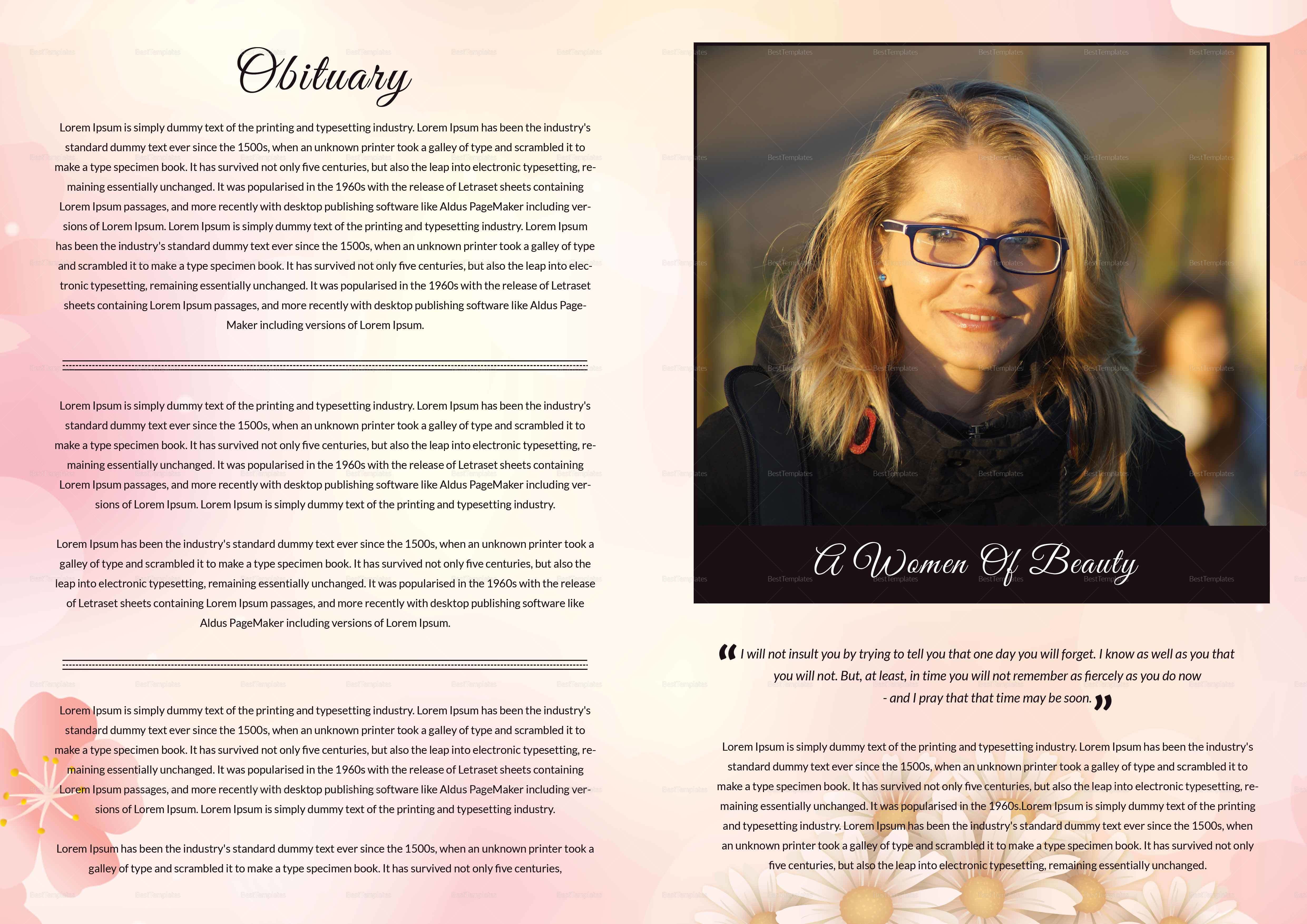 Funeral Booklet