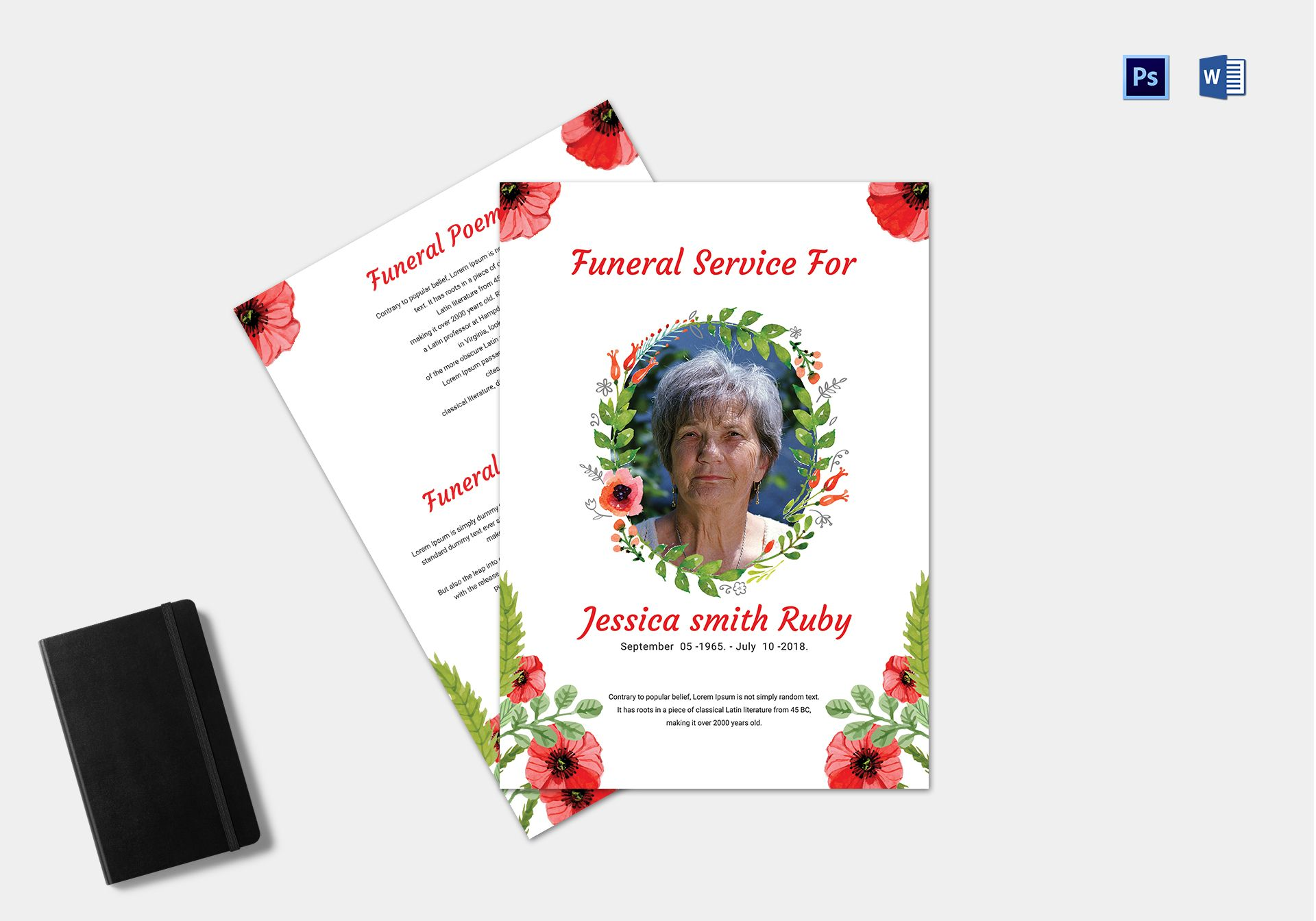 Premium Funeral Service Template