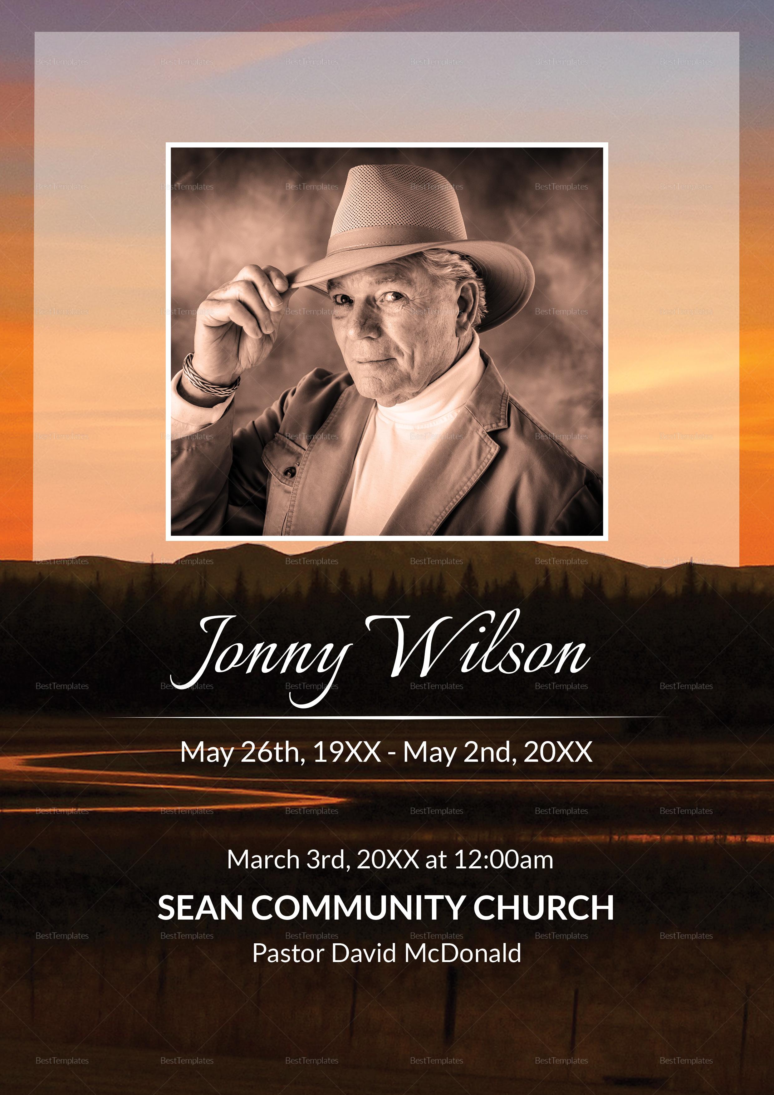 Funeral Obituary