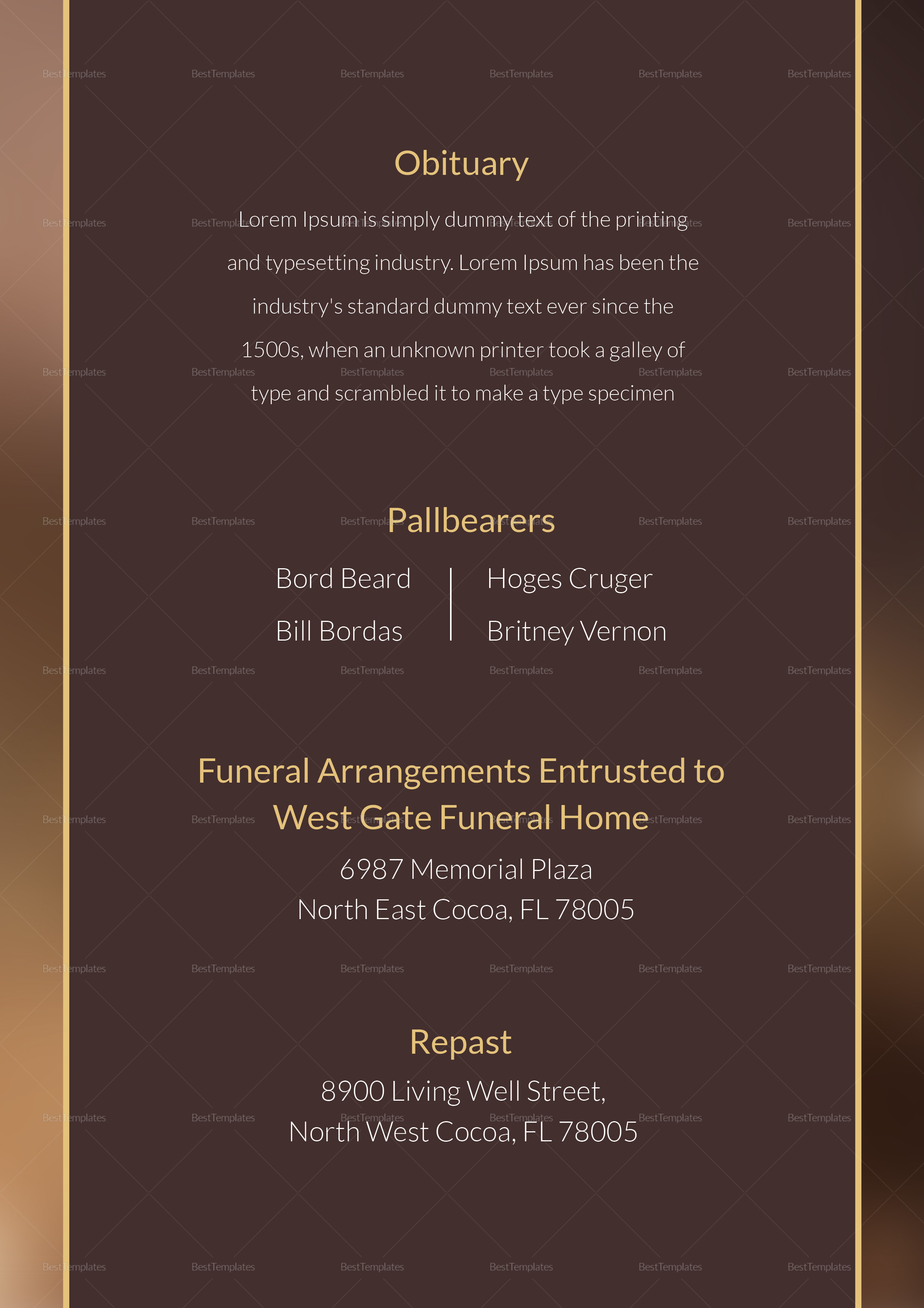 Funeral-Obituary-Template