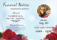 Memorial Funeral Template