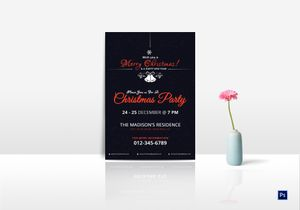 /5349/Invitation-for-Christmas-Party-Template