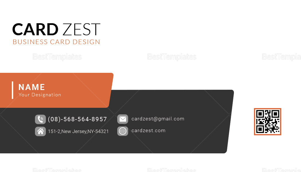Multi-Purpose Business Card Design