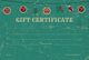 Special Christmas Gift Certificate