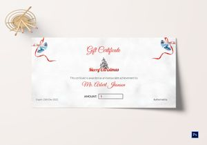 /5395/Christmas-Bell-Gift-Certificate-template