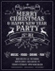 Editable Christmas Party Invitation Flyer