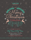 DJ Christmas Celebrations Flyer