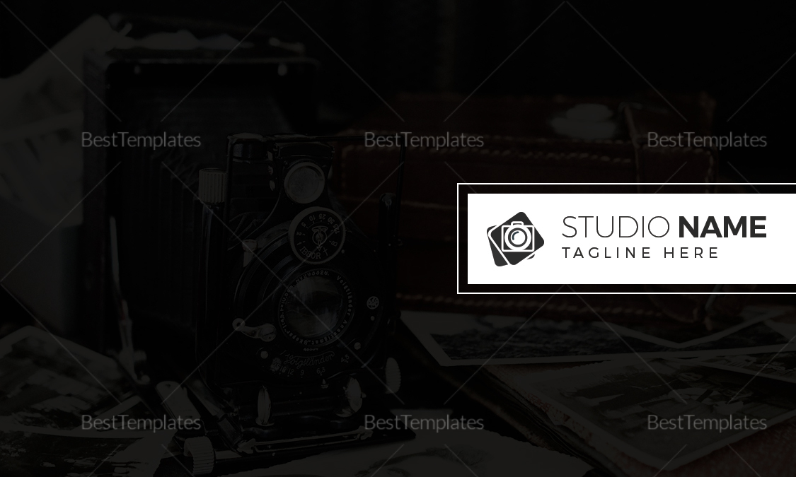 Professional Photography Business Card Design Template In Word Psd
