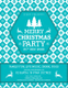 Christmas DJ Party Flyer