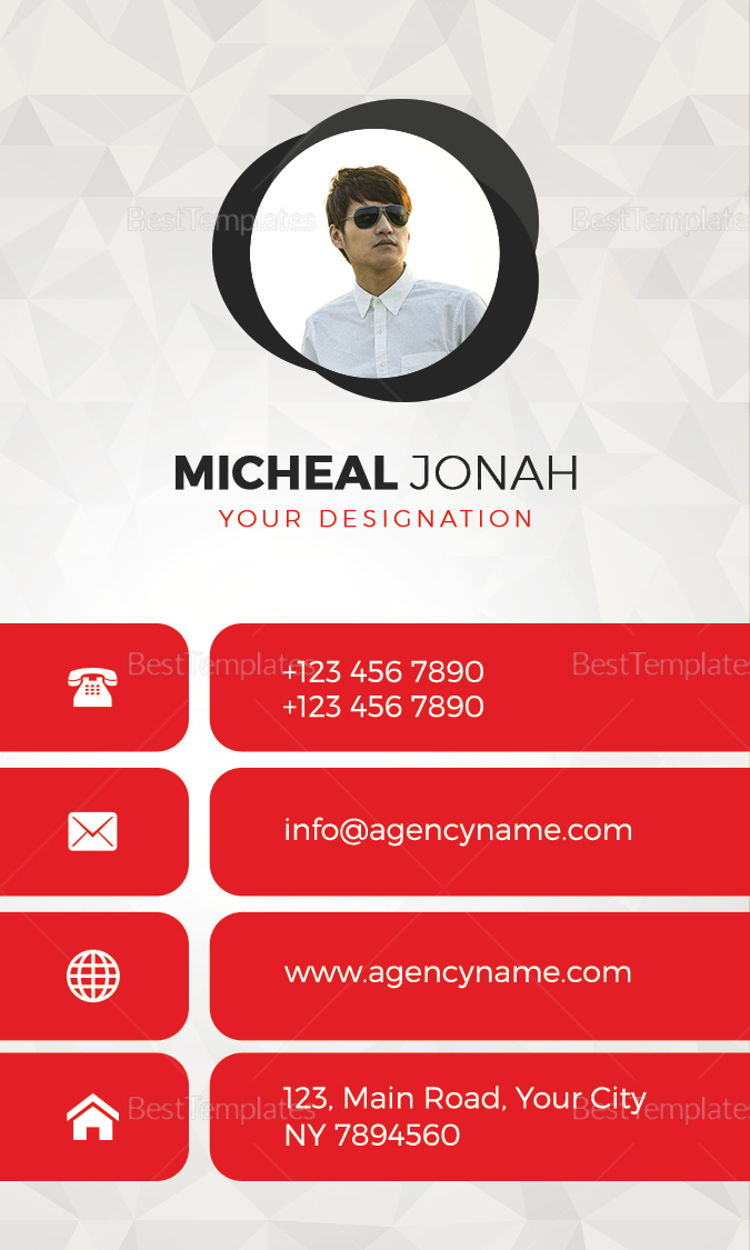 Agency Business Card Design Template