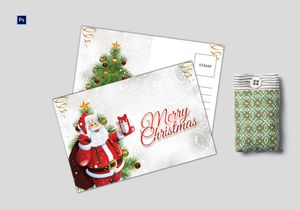 /5482/Santa-Christmas-Postcard-Template