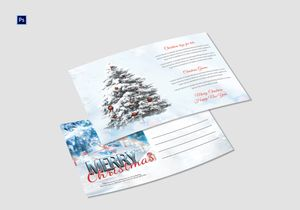 /5494/Xmas-Tree-Postcard-Template