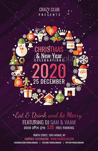 Modern Christmas Poster
