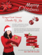Red Christmas Flyer