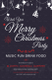 Christmas DJ Party Poster