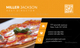 Pizza Business Card Design Template
